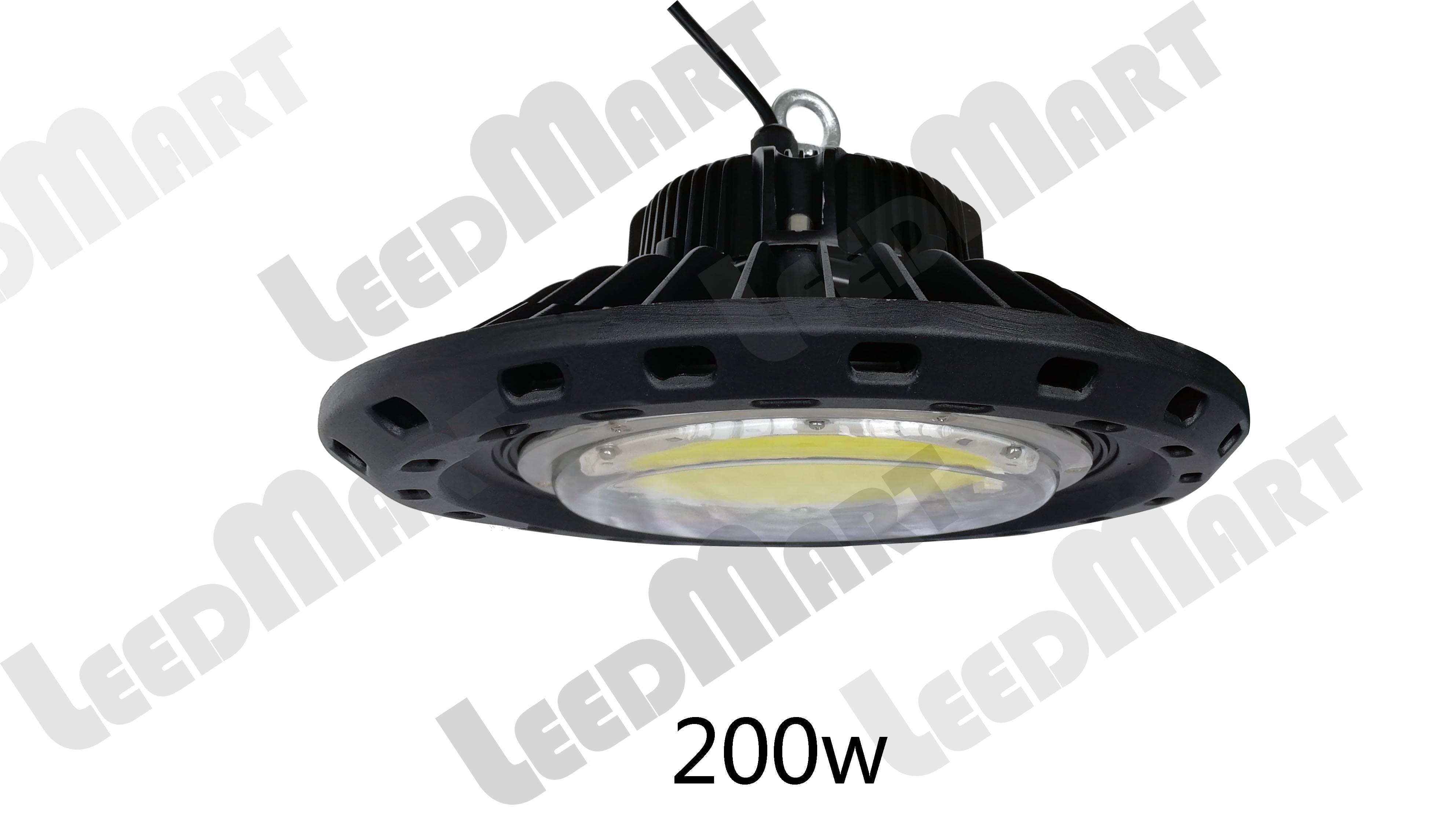 UFO 100w-250w LED high bay light IP65 indoor outdoor commercial warehouse lighting top quality