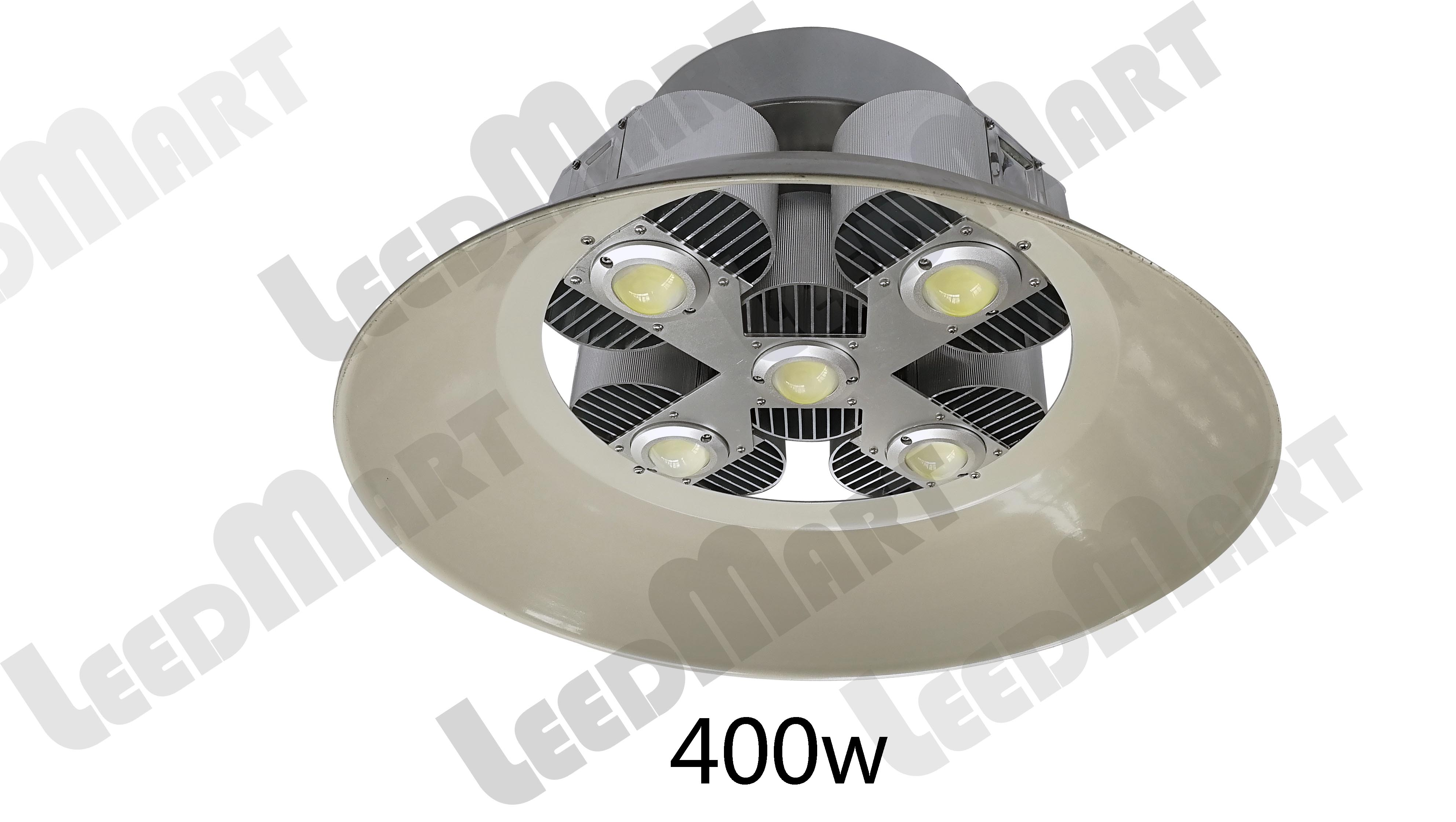 Dustproof 100w-600w white integrated LED high bay light high quality