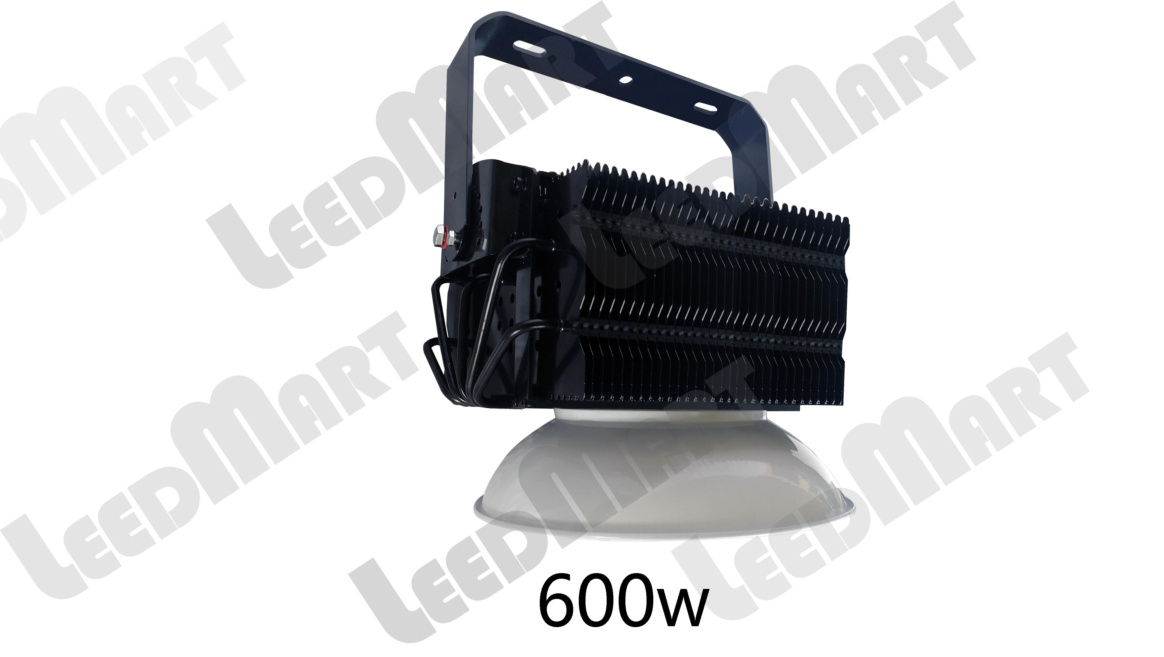 Heat pipe good thermal dissipation 200w-2000w LED high bay 260000 lumens MH equal- 100-277V
