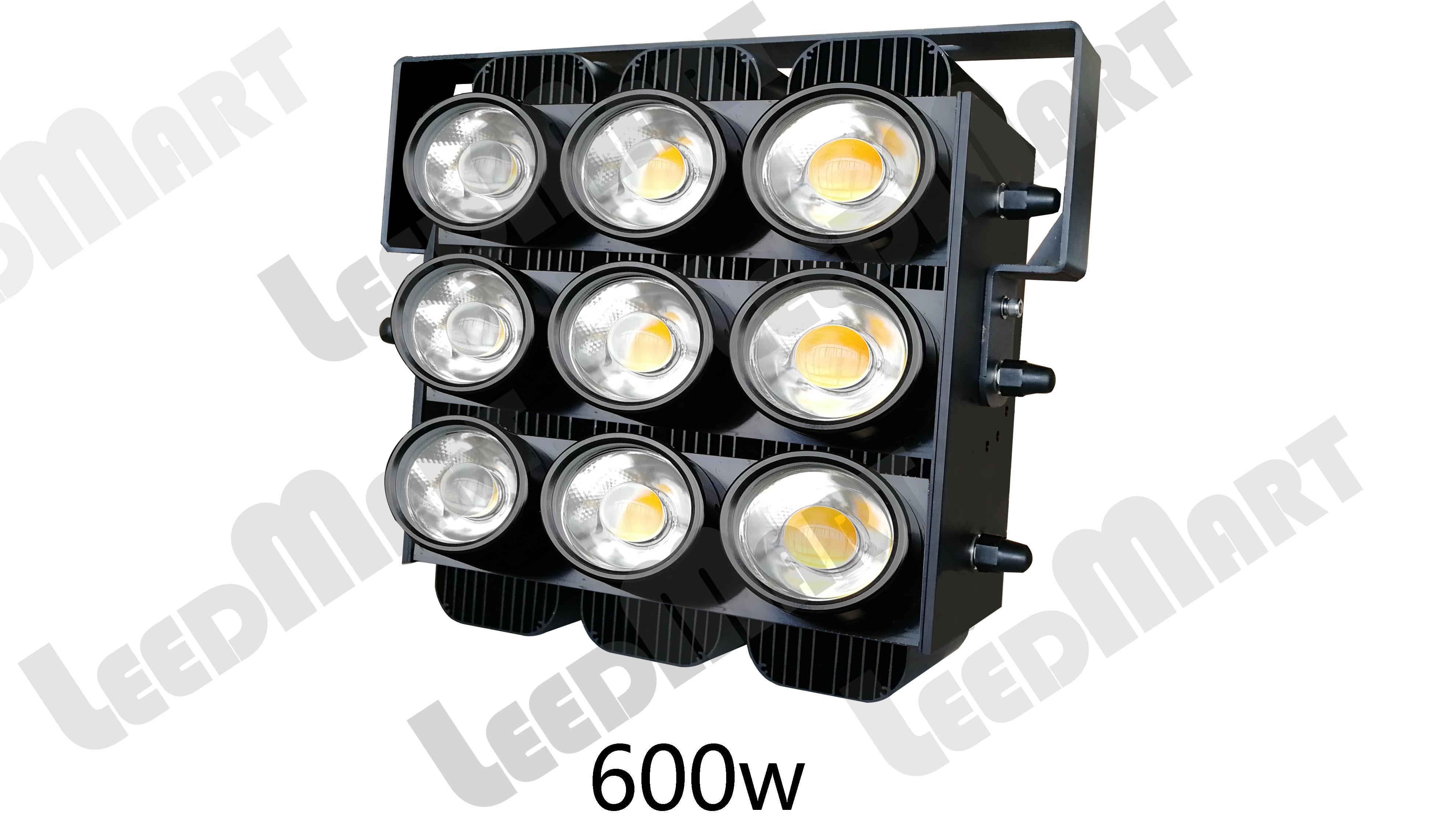 Dustproof 200 watt -600 watt 78000 lumen IP65 LED power crane flood Light