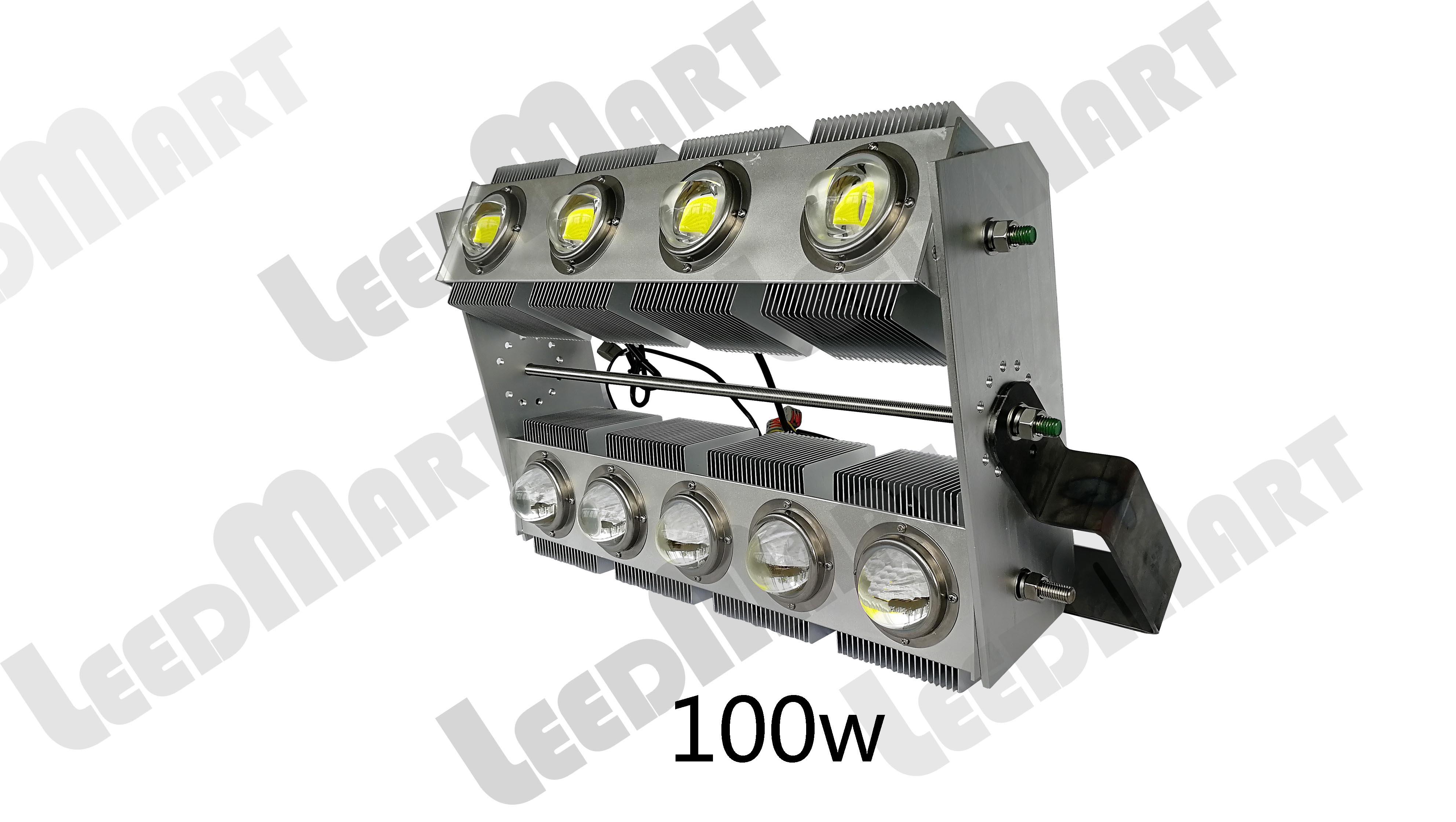 Rotatable LED billboard flood light IP65 indoor outdoor 50 watt -400 watt 48000 lumen innovative design
