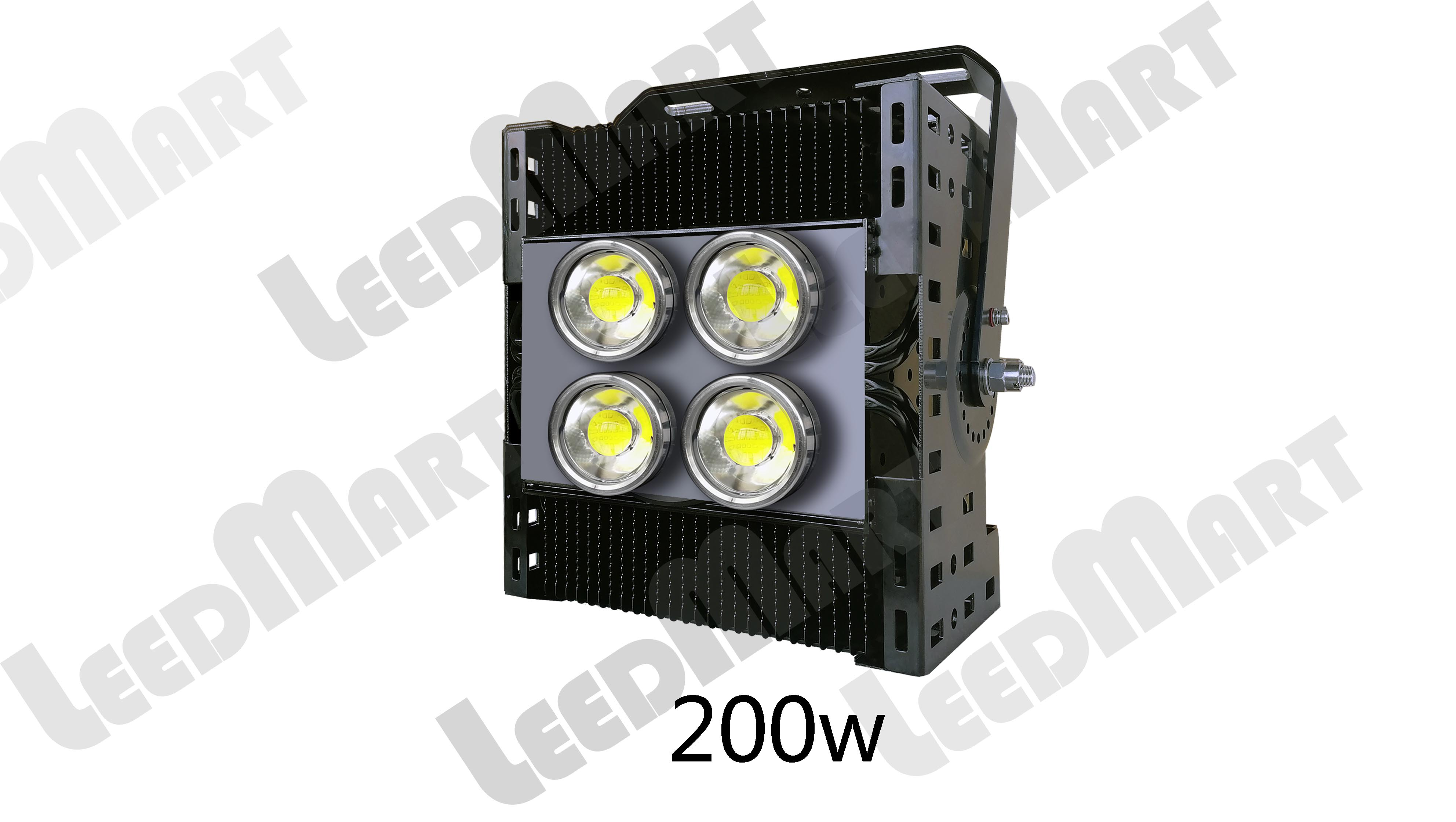 Multi-purpose LED high mast light flood light IP65 200 watt -1000 watt 130000 lumen
