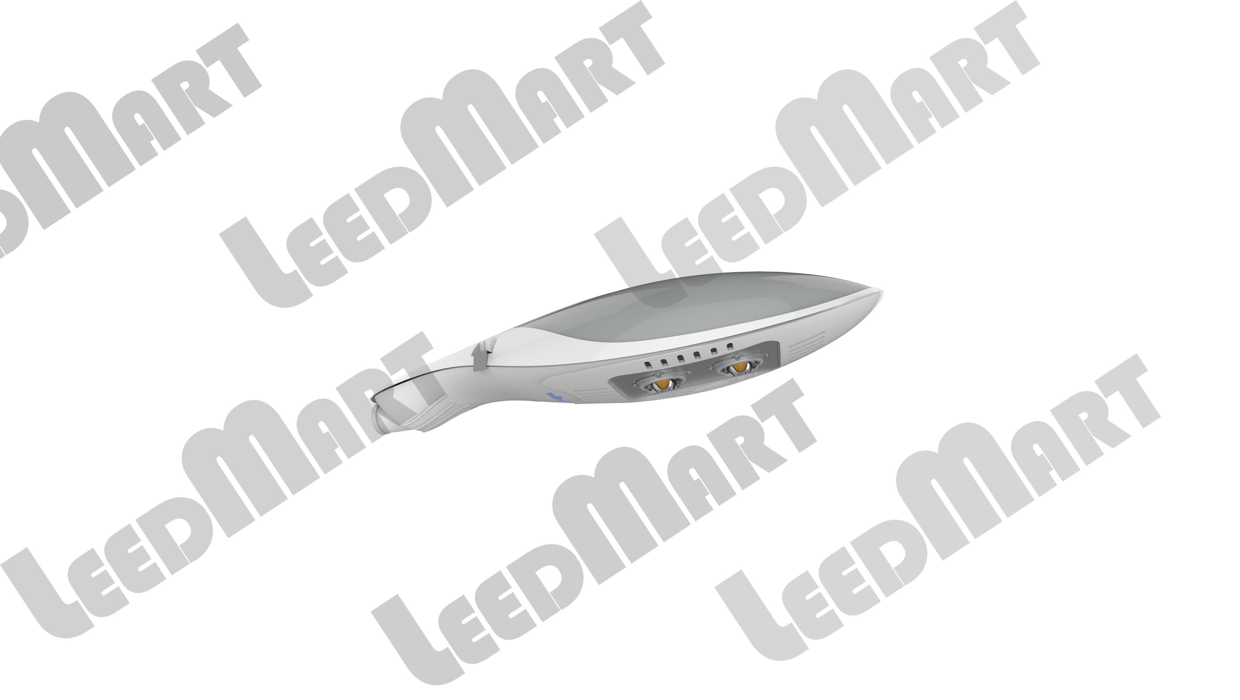 LED street light COB 60 watt-180 watt 21600 lumen 2700-5000K - 120-277V