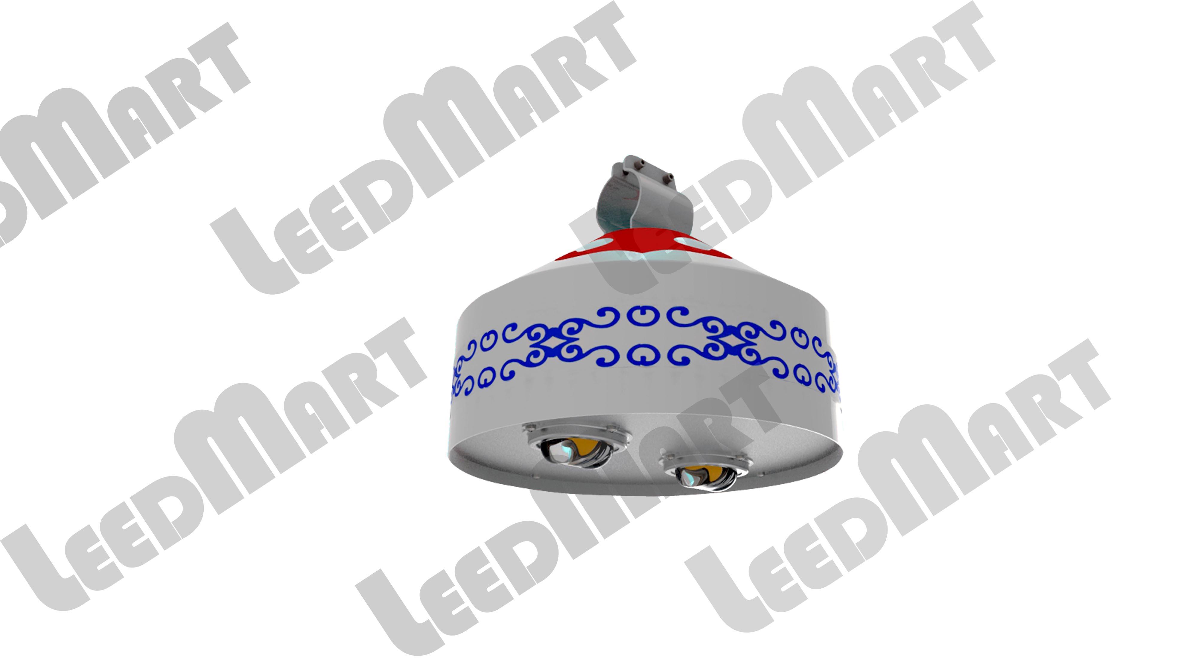 Mongolian yurt style IP65 60 watt -210 watt 25200 lumen LED Street Light