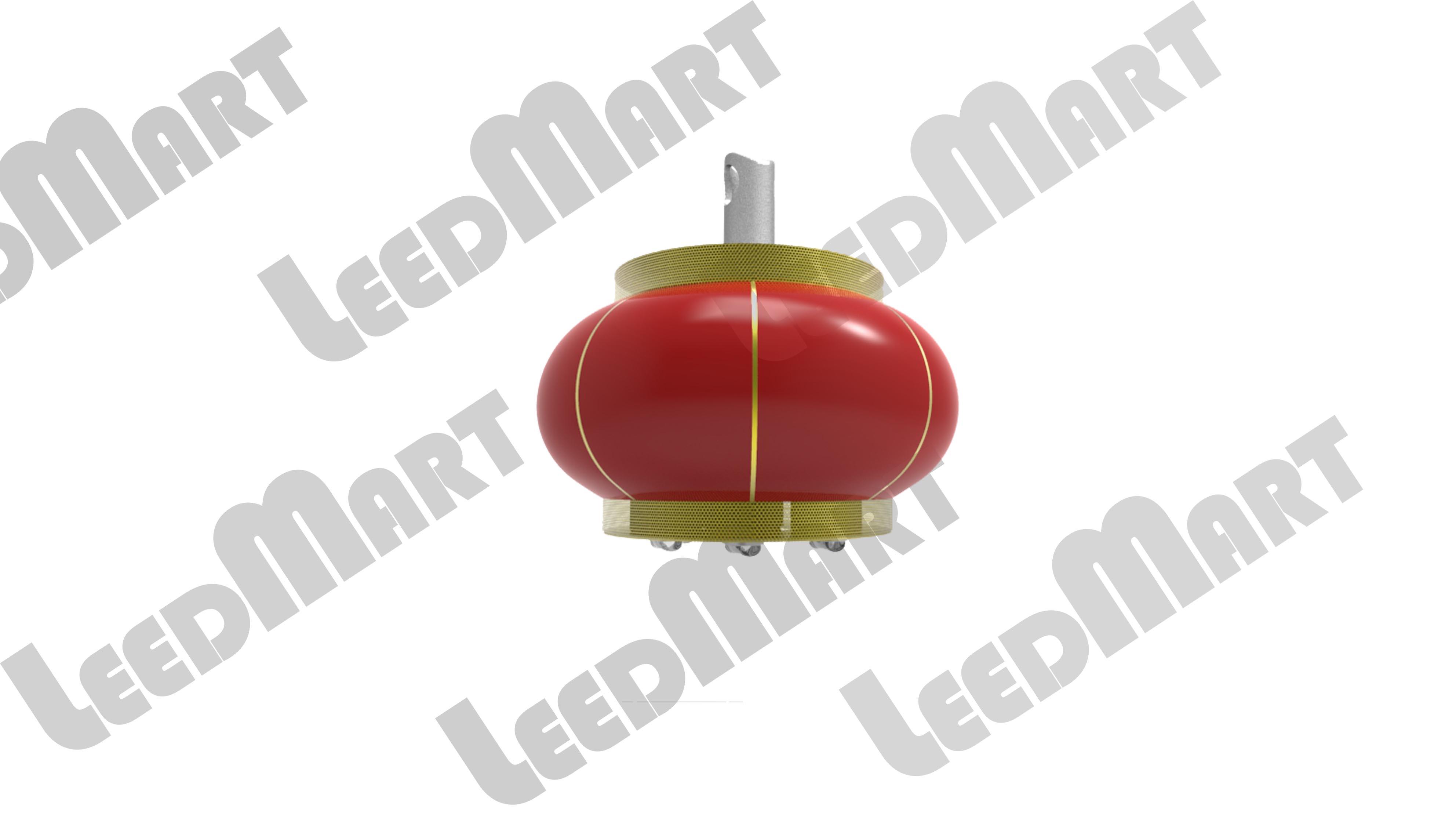 Red Lantern style IP65 60 watt -210 watt 25200 lumen LED Street Light
