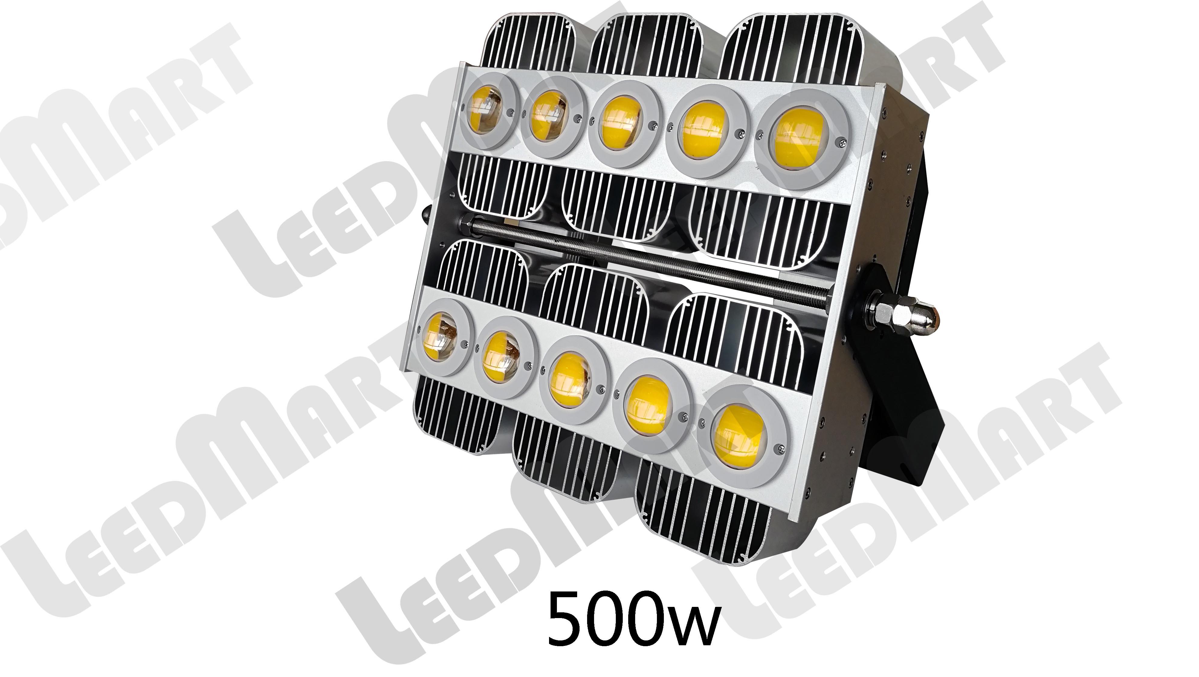 Dustproof good quality IP65 200 watt -1000 watt 130000 lumen LED high mast flood light fixture
