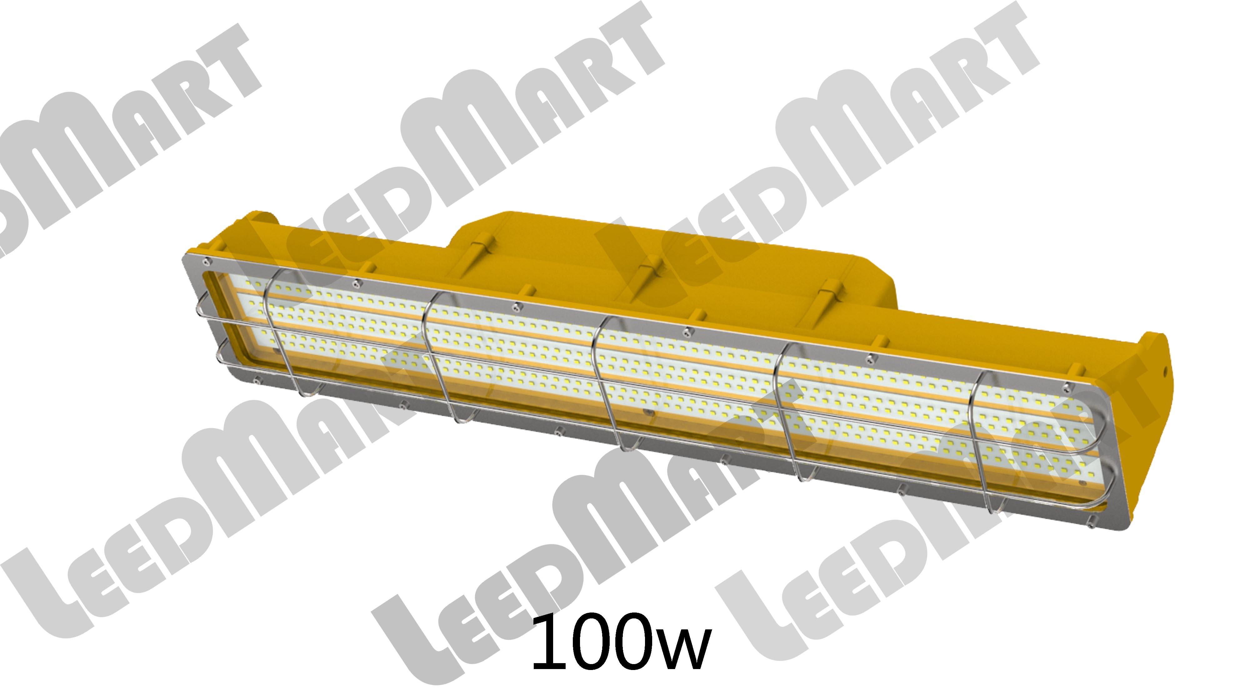 Linear IP65 60watt-210watt 21000 lumen LED explosion Proof light fixture for mining petrol Station