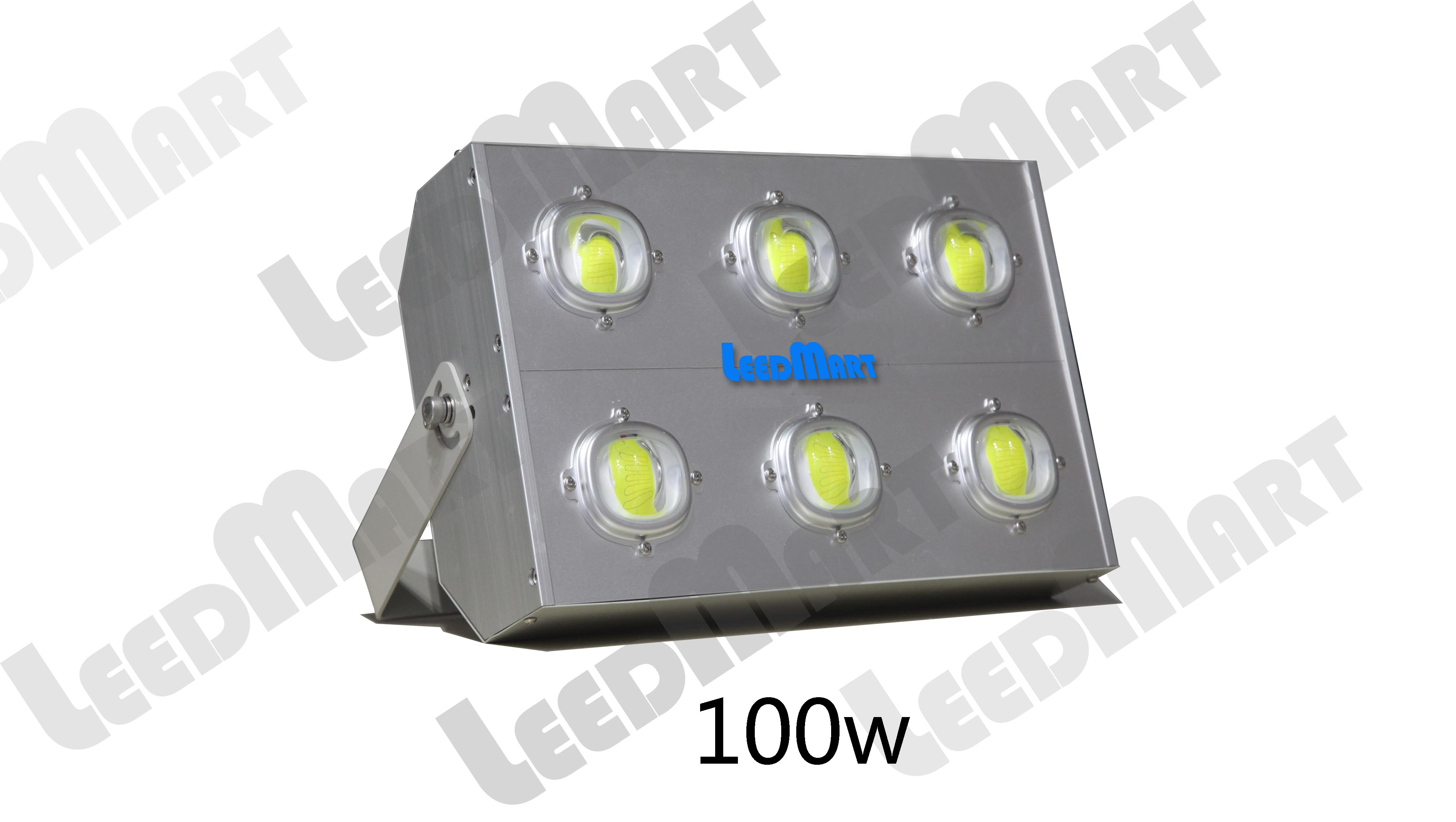 Compact LED flood light IP65 50 watt -200 watt 24000 lumen